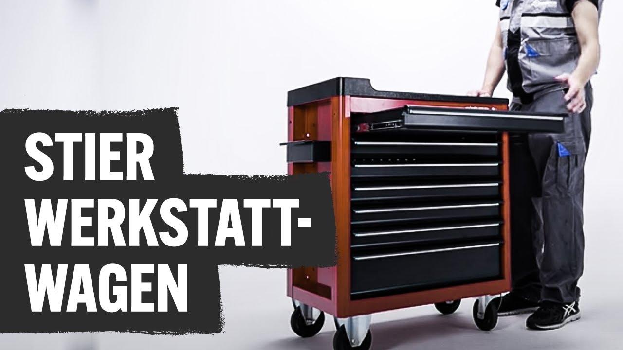 Stier Werkstattwagen Contorion Profi Tv Youtube