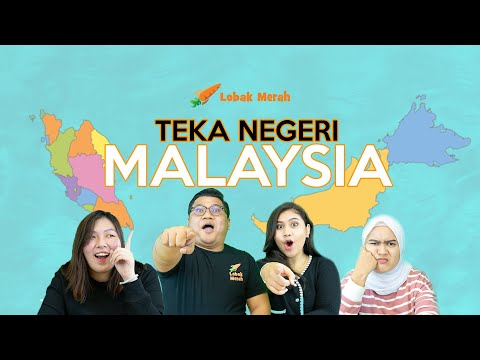 Lobak Merah Teka Negeri Malaysia