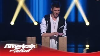 Collins Key - Magician Smashes Nick Cannon's Expensive Watch - America's Got Talent 2013