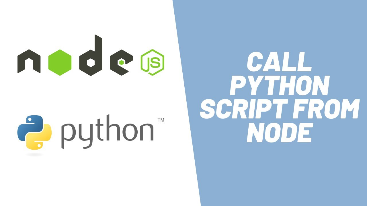 How to Call Python Script from Node JS