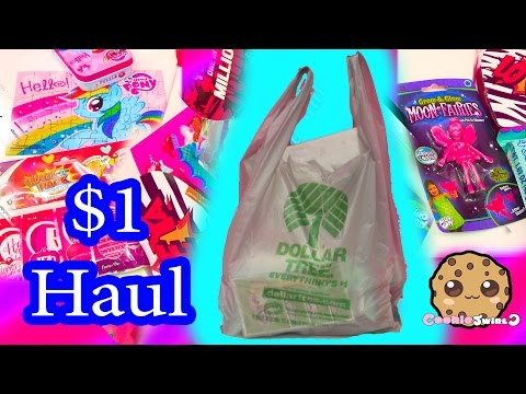 DOLLAR TREE $1 HAUL - Valentines Day Star Wars Candy + MLP Rainbow Dash Puzzle Cookieswirlc Video