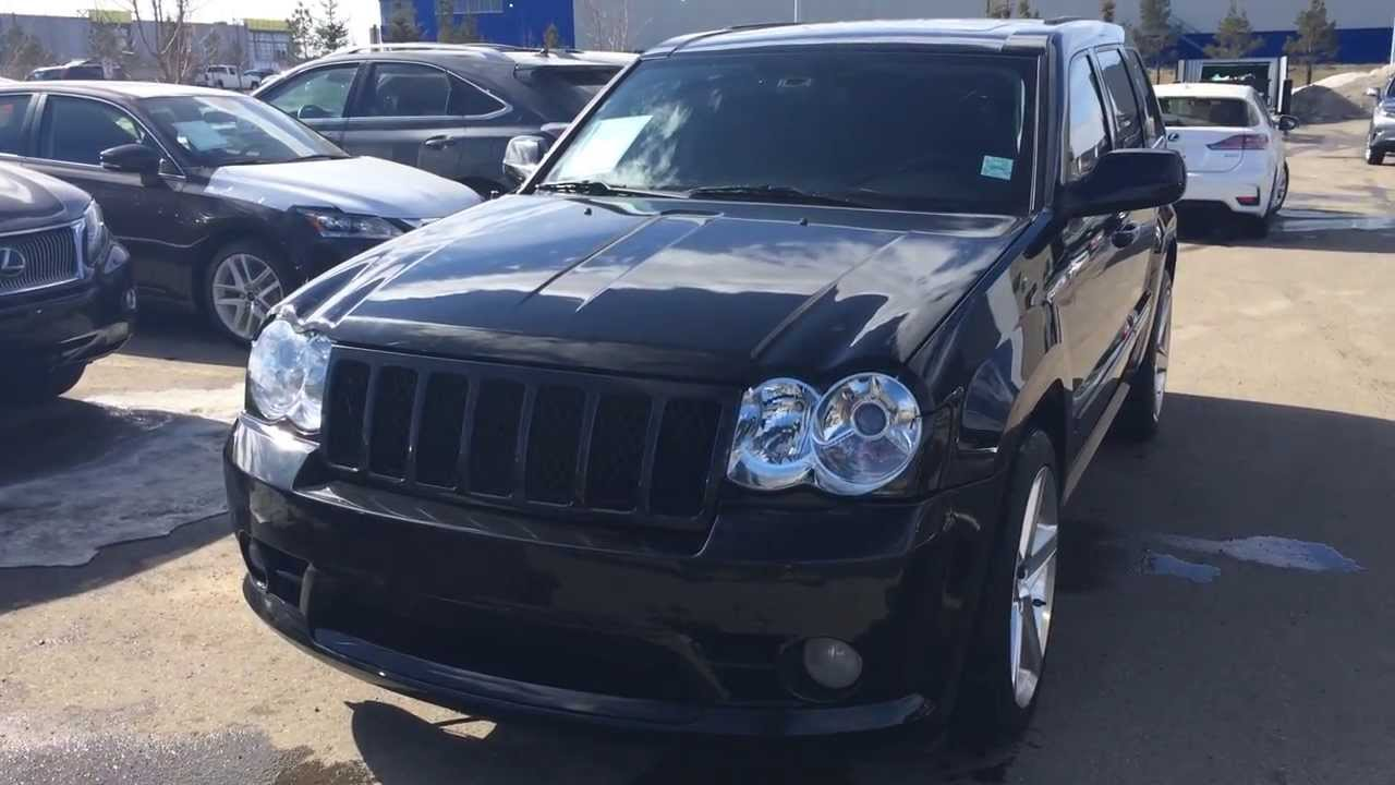 Pre Owned Black 2010 Jeep Grand Cherokee Srt8 4wd Alberta Youtube