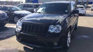 Pre Owned Black 2010 Jeep Grand Cherokee SRT8 4WD Alberta