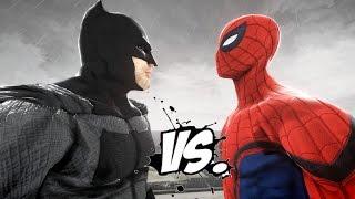 BATMAN vs SPIDERMAN - Epic Superheroes Battle