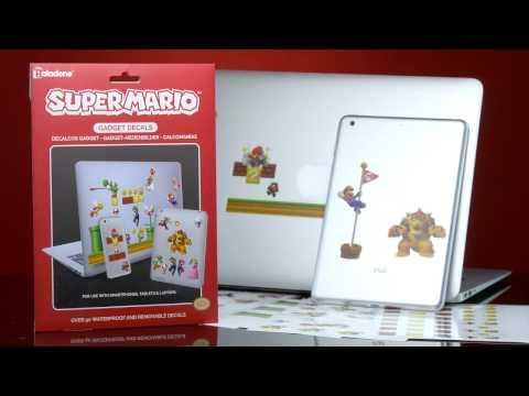 Super Mario™ Gadget Decals | Paladone