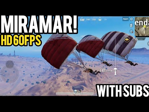 MIRAMAR with SUBS! Untouchables! | PUBG Mobile Lightspeed 0.5.0
