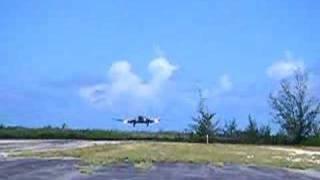 DC-3 Landing at MYBC Bahamas