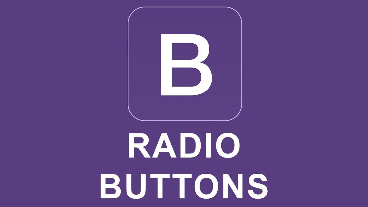 Bootstrap Radio