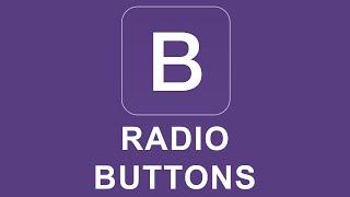 Bootstrap 4 Tutorial 15 - Radio Buttons thumbnail