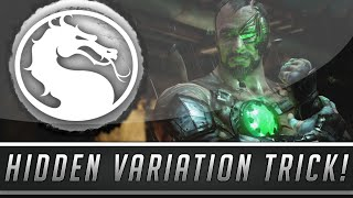 Mortal Kombat X: Play With No Character Variations! - Secret Variation Option! (Mortal Kombat 10)