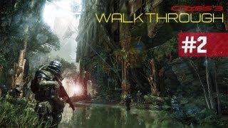 Crysis 3 Walkthrough - Crysis 3 Walkthrough: Part 2 Wetworks (Gameplay/Commentary)