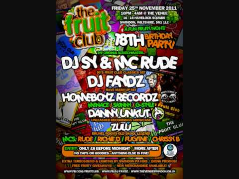 DJ G-Style - The Fruit Club 18th Birthday - Promo Mix 2011