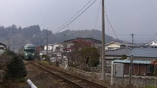 2016/2/1 特急「ゆふいんの森5号」走行@光岡~日田間