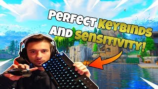 How To Find The Best Sesitivity And Keybinds! - Fortnite Tips And Tricks