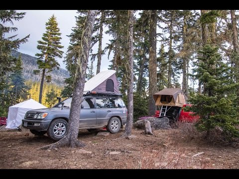 Olallie Lake Camping Oregon Winter 2015