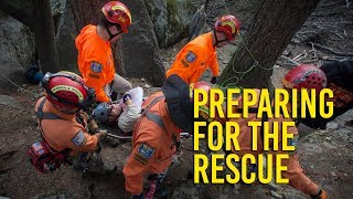 What it takes to be on a search and rescue team