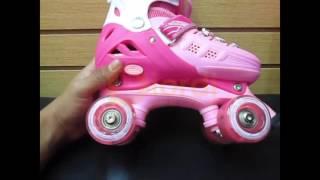 Patines 4 ruedas niña