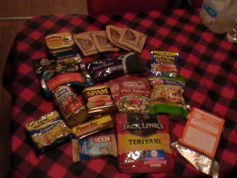 Food For Your Bug Out Bag