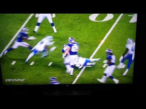 Eli Manning gets CRUSHED!