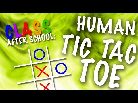 class after school human tic tac toe youtube. Black Bedroom Furniture Sets. Home Design Ideas