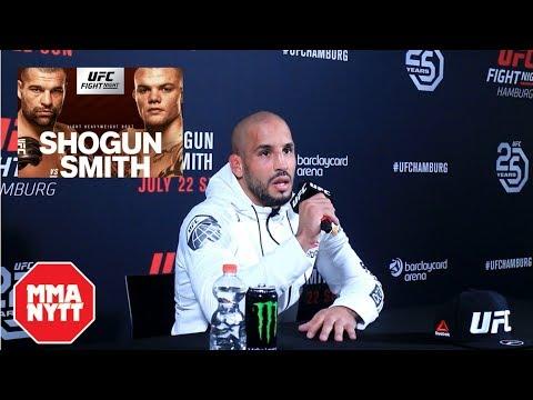 ABU AZAITAR UFC HAMBURG POST FIGHT PRESS CONFERENCE