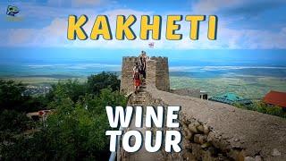Кахетия (Грузия). Винный Тур на 2 дня  - 2 days Tour Kakheti - Travel to Georgia 4K - Caucasus.COOL