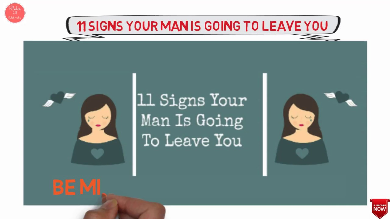 Signs your wife is going to leave you