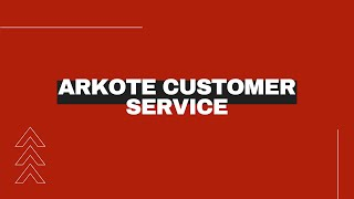 Arkote Surface Excellence   Customer Service Team