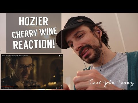 Vocal Coach REACTION, Hozier - Cherry Wine