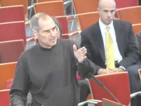 Steve Jobs speaks at Cupertino City Council Meeting - 2006
