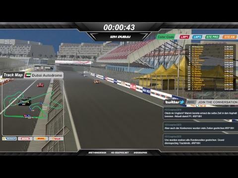 Free Practice 2 - World Sportscar Championship 17/18 - 12 Hours of Dubai - Onboard Live Stream
