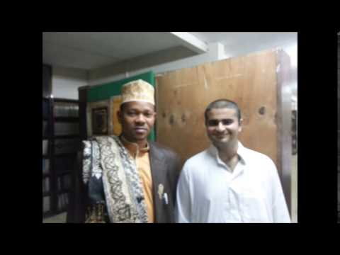 Ejaz Bhalloo and The head of the Sunni community in Dar-es-Salaam, Tanzania