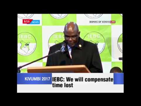 IEBC: We will compensate time lost during delays
