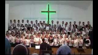Господь Царь наш Всемогущий   ЦЕХБ г Прохладный Сводный хор 12 мая 13г Господь Царь