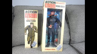 Action Man 50th Anniversary Soldier & Scuba Diver from Art & Science