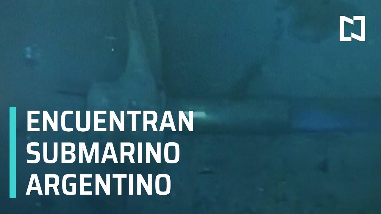 Encuentran el submarino argentino, ARA San Juan en el fondo del océano - Despierta con Loret
