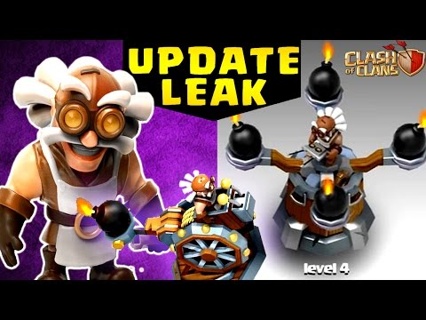 "Thumbnail: Clash of Clans: UPDATE LEAK 2017 NEW DEFENSE/TROOP ""CATAPULT"" ""OPERATOR"" ?"