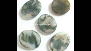 Gemstone Worry Stone : Plam Stones : Thumb Stones - Suppliers & Wholesaler - Agate Export