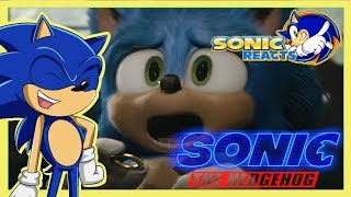 THIS IS IT! NEW MOVIE TRAILER!! Sonic Reacts New Sonic The Hedgehog Movie Trailer