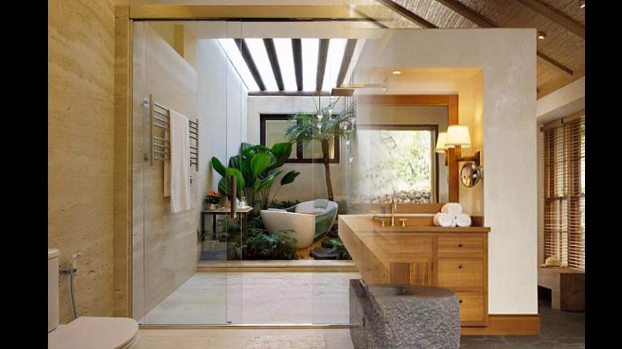 Tropische badezimmer design ideen - YouTube