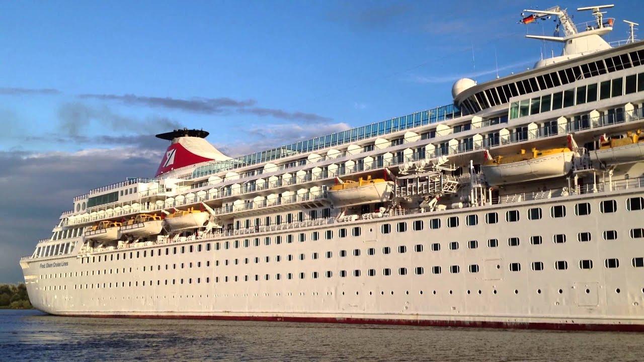 Fred Olsen Cruise Line MV Balmoral Kiel Canal September - Balmoral cruise ship schedule