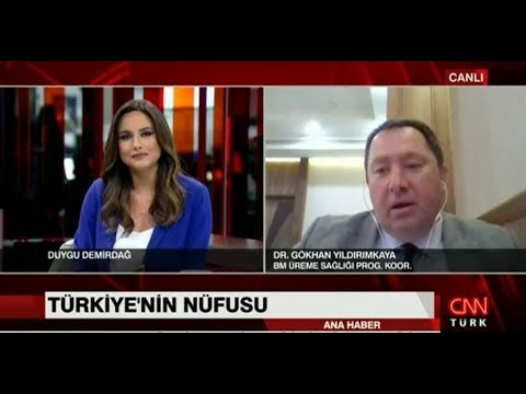 World Population Day 2017 CNN Turk live broadcast with Dr. Gökhan Yıldırımkaya