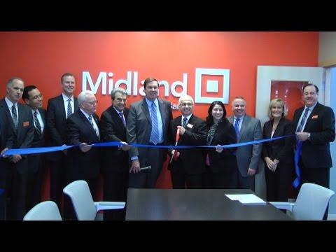 """Midland States Bank """"Ribbon Cutting"""" Joliet, IL."""