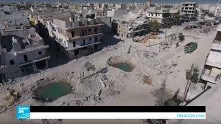 """مدينة حلب السورية..""""سجن مفتوح على السماء"""""""