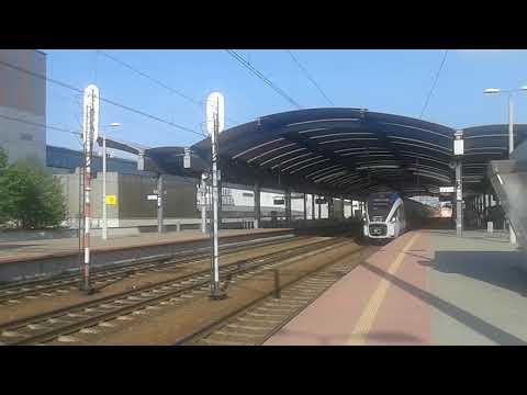 IC Ondraszek odjazd ze stacji Katowice