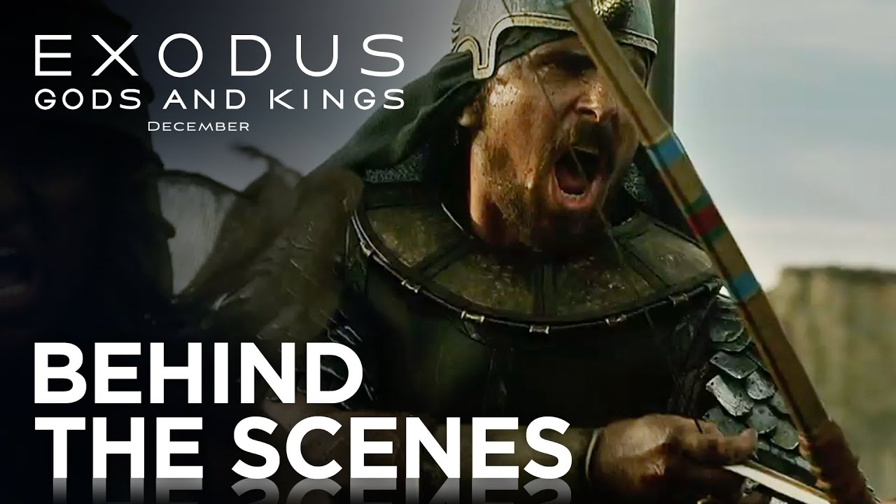 "Exodus: Gods and Kings | ""Creating the Action"" Behind the Scenes [HD] 