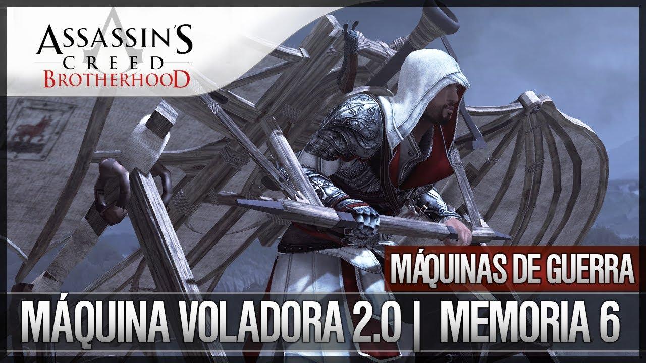 Como Dibujar La Maquina Voladora: Assassin's Creed Brotherhood