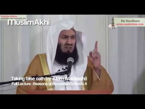 WOLLAH zeggen EN liegen! - Mufti Menk - Nederlands