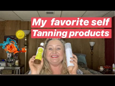 My Self Tanning Product Collection - My Favorites