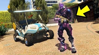 GALAXY SKIN in GTA 5 FORTNITE MOD !!